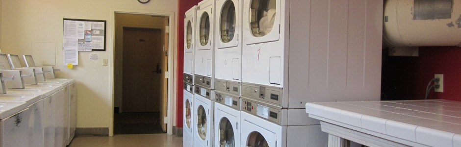 Onsite laundry Room